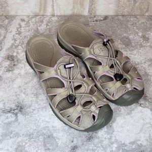 Keen Whisper Slide Slip On Sandals Sport Size 8.5